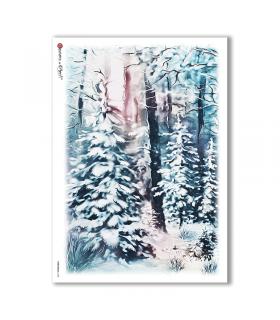 CHRISTMAS-0138. Papel de Arroz Navidad para decoupage.
