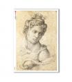 ARTWORK-0085. Papel de Arroz obras de arte para decoupage.