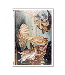 ARTWORK-0087. Artwork Rice Paper for decoupage.