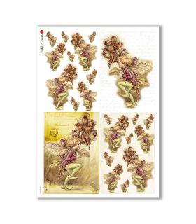 FAIRIES-0059. Rice Paper for decoupage fairies.