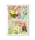 FLOWERS_0325. Carta di riso vittoriana fiori per decoupage.