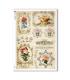FLOWERS_0330. Carta di riso vittoriana fiori per decoupage.