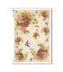 FLOWERS_0331. Papel de Arroz victoriano flores para decoupage.