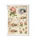 FLOWERS_0332. Papel de Arroz victoriano flores para decoupage.