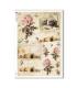 FLOWERS_0333. Carta di riso vittoriana fiori per decoupage.