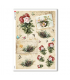 FLOWERS_0334. Carta di riso vittoriana fiori per decoupage.