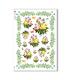 FLOWERS_0336. Papel de Arroz victoriano flores para decoupage.
