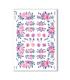 FLOWERS_0338. Papel de Arroz flores para decoupage.