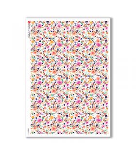 PATTERN-0148. Papel de Arroz texture para decoupage.