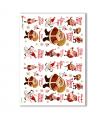CHRISTMAS-0148. Carta di riso Natale per decoupage.