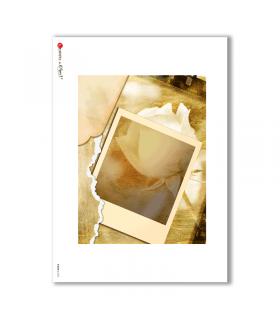ALBUM-L-0025. Rice Paper album for decoupage.