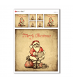 CHRISTMAS-0164. Christmas Rice Paper for decoupage.