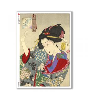ARTWORK-0089. Artwork Rice Paper for decoupage.
