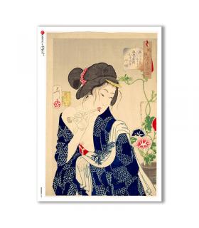 ARTWORK-0092. Artwork Rice Paper for decoupage.
