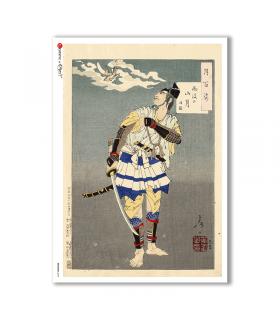 ARTWORK-0094. Carta di riso opere d'arte per decoupage.