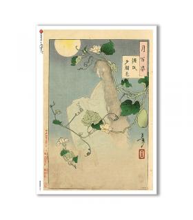 ARTWORK-0096. Carta di riso opere d'arte per decoupage.