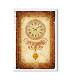 TIME-0015. Carta di riso orologi per decoupage.