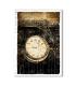 TIME-0017. Carta di riso orologi per decoupage.