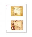 ALBUM-S-0038. Carta di riso album small per decoupage