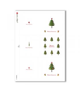 CHRISTMAS-0191. Carta di riso Natale per decoupage.