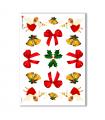 CHRISTMAS-0011. Carta di riso Natale per decoupage.