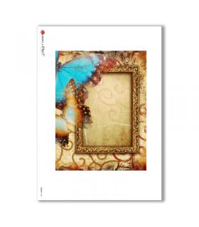 ALBUM-L-0029. Papel de Arroz album para decoupage.