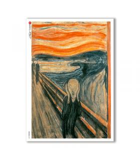 ARTWORK-0098. Carta di riso opere d'arte per decoupage.