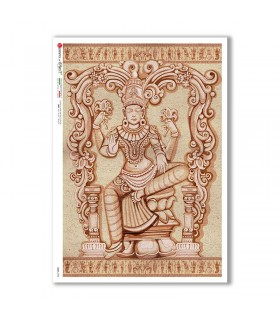 CULT-0153. Carta di riso sacra per decoupage.