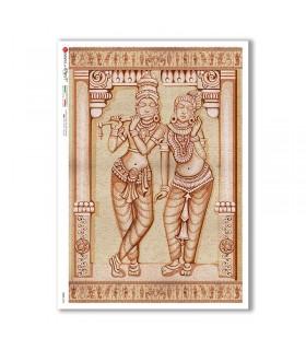 CULT-0154. Carta di riso sacra per decoupage.