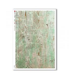 PATTERN-0195. Carta di riso texture per decoupage.
