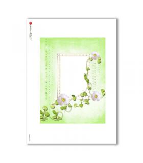 ALBUM-L-0032. Rice Paper album for decoupage.