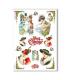 CHRISTMAS_0251. Carta di riso vittoriana Natale per decoupage.