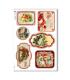 CHRISTMAS_0254. Carta di riso vittoriana Natale per decoupage.