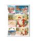 CHRISTMAS_0264. Carta di riso vittoriana Natale per decoupage.