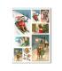 CHRISTMAS_0265. Carta di riso vittoriana Natale per decoupage.