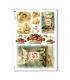 CHRISTMAS_0270. Carta di riso vittoriana Natale per decoupage.