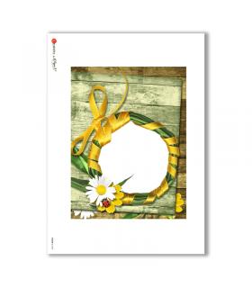 ALBUM-L-0038. Rice Paper album for decoupage.