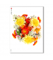 FLOWERS-0023. Carta di riso fiori per decoupage.