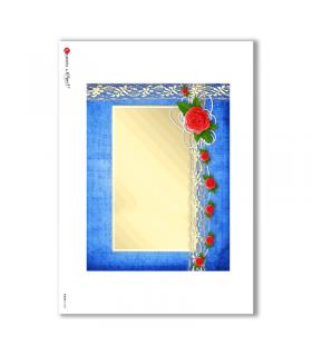 ALBUM-L-0046. Rice Paper album for decoupage.